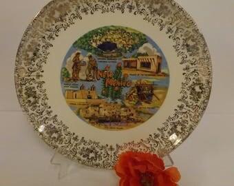New Mexico Souvenir Plate