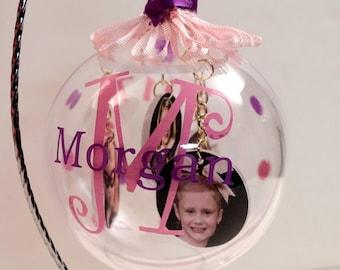 Keepsake photo ornaments, Christmas ornaments, holiday gifts