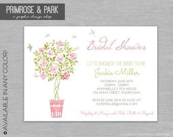 Watercolor Floral Invitation Printable // Floral Bridal Shower Invitation // Floral Baby Shower Invitation // Printable or Digital File