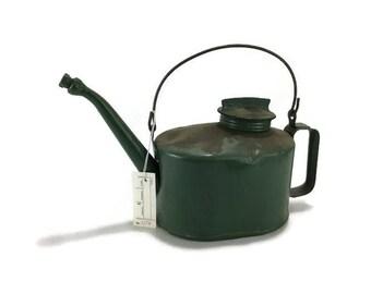 Vintage Oil Can * Green * Auto Memorabilia * Eagle