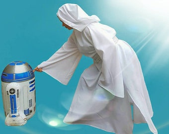 Princess Leia inspired costume deluxe handmade in all sizes