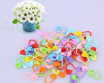 100 x Knitting Markers