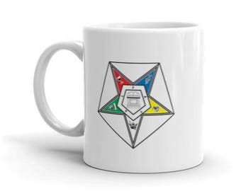 OES Order of the Eastern Star coffee Mug