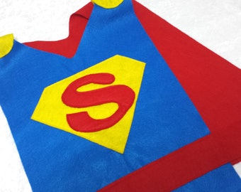 Adult / Big Kid Superman Costume Tunic (Super Hero)