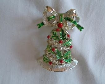 Vintage Gerry's  Movable Christmas Bell  // 25