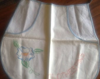 Hand Embroidered Clothespin Apron