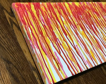 Colorful Drip Painting