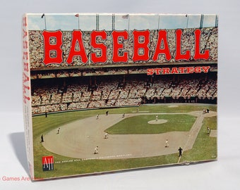 Baseball Strategy from Avalon Hill 1962 COMPLETE w Some New Parts