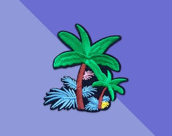 Patches ironfix tropical jungle  / Malicieuse accessories