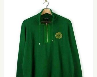 ON SALE Ralph Lauren Women's Green Half zip Pullover /Sweatshirt*