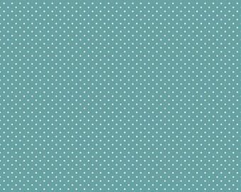 Swiss Dots - C670 TEAL