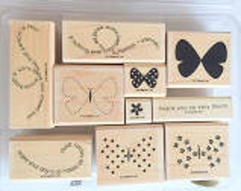 Flight of Butterfly (Wood) - Stampin Up