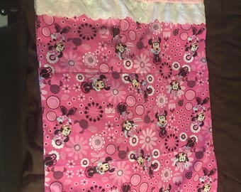 minnie mouse hand made pillowcase