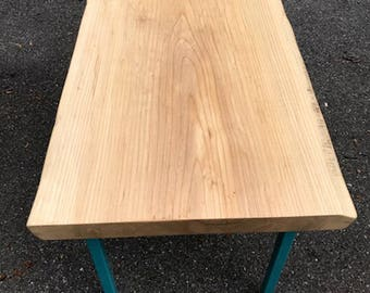 Amazing Live Edge Sycamore Table   Live Edge Wood Slab Tabletop   Dining Table