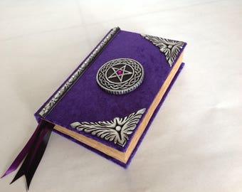 Handmade Book of shadows blank spell book / journal / Diary....cert#252