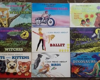 9 I Can Read About books I Can Read About Weather, Ghost, Witches, Ballet, Motorcycles
