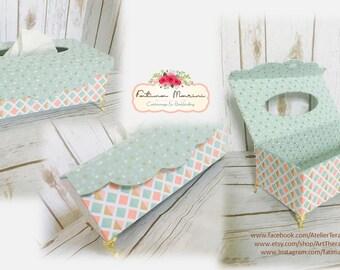 Tissue Box Cover, Tissue Box Holder, Decorative Tissue Box Cover, Fabric Cover Box, Fabric Tissue Box Cover, Tissue Holder, Tissue Cover