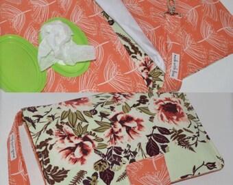 Diaper clutch / Floral