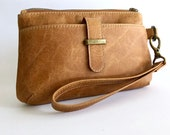 Custom Order for Leanne MacDonald: Brooke 6+ Purse in Distressed Biscuit Brown Leather