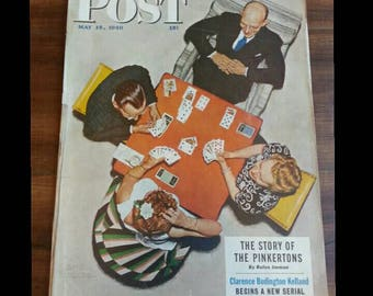 1948 Norman Rockwell Saturday Evening post cover!