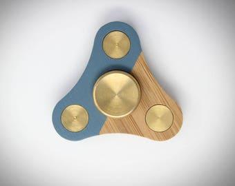 Mini Bamboo Fidget Spinner, Minimal Spinner, Fidget Toy Designs, Fidget Spinner Toy, Spinning Toy, Eco Friendly * * Free US Shipping * *