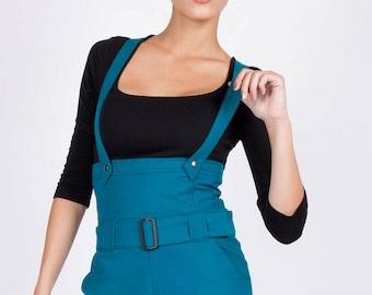 Blue cotton shorts from Chilia Sacholi