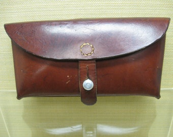 Swiss Army Ammo Pouch, Marked on Back, H. Frei Busswil 64, with the Swiss Cross and Shield, in Outstanding Condition