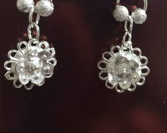 Mini Silver Drop (Varied) Earrings