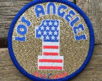Los Angeles Summer Olympics 1984 Souvenir Patch