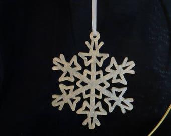 Scroll Saw Fret Snowflake
