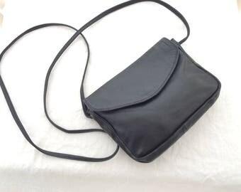 Mini cross body crossbody bag vintage super soft leather
