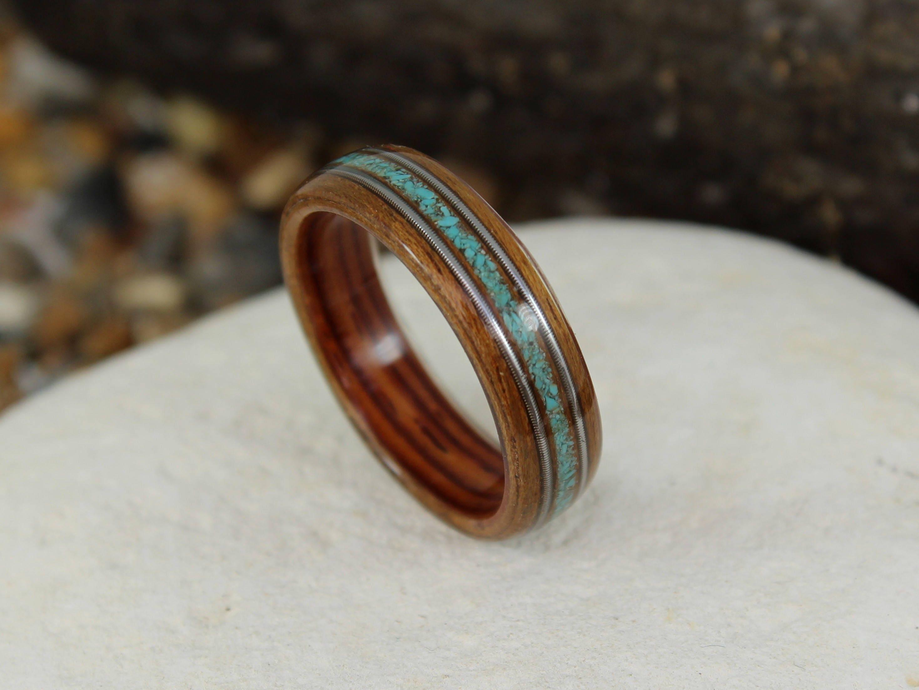 Wood Rings Wooden Rings Mens Wood Rings Wooden Wedding