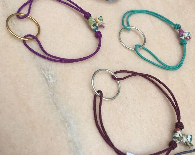 "Pulsera de Aro ""Circulus"", friendship bracelet"