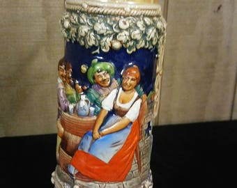 Gerz Beer Stein made in Hand Made in Germany no.3248