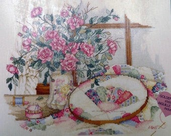 Delicate Beauties paula Vaughan's counted cross stitch kit