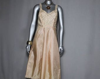 Vintage Slip Dress Lingerie Nightgown
