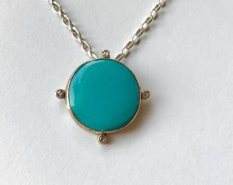 Sierra Nevada Natural Turquoise Necklace