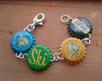 Image result for bottle cap bracelet