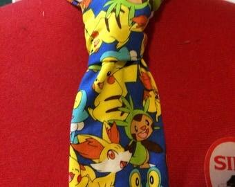 Pokemon Nintendo Necktie