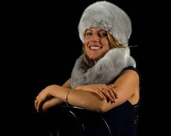 fur faux fur grey Pearl
