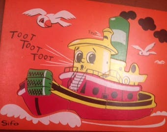 Sifo Tug Boat Puzzle - PRICE REFLECTS SALE