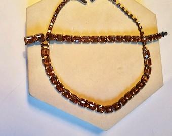 1960s Citrine Weiss jewelry set
