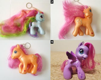 My Little Pony Large Hasbro Keychain - SELECT ONE