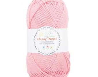 Chunky Crochet Thread from Lori Holt - Peony - Pink