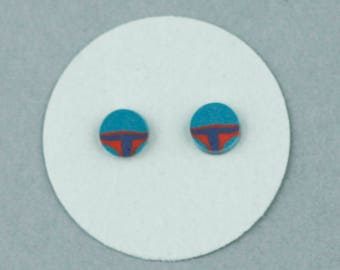 Boba Fett Earrings