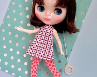 MOD kitsch Blythe doll trapeze dress / PILLS'n'PILLS