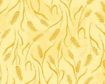 Country Days wheat fabric by Red Rooster Fabrics.