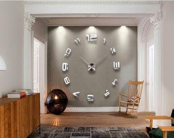 Modern wall mirror Etsy