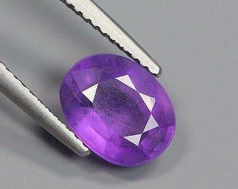 1.99 Ct Natural Brazil Purple AMETHYST