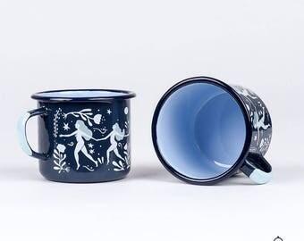 Wild Women Enamel Mug